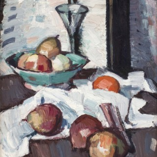 A Still Life of Apples and Pears