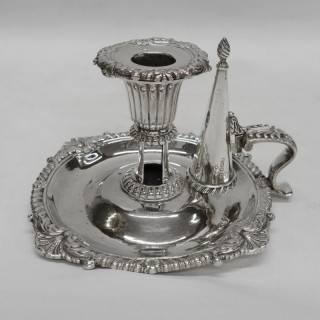 George III Silver Chamberstick by Paul Storr