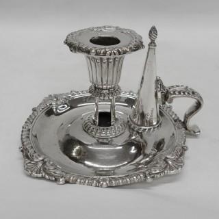George III Silver Chamberstick by Paul Storr