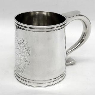 Antique James II Silver Mug