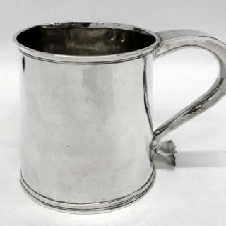 Rare Charles II Provincial Silver Mug