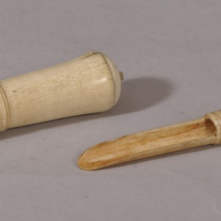 Antique 18th Century Bone Apple Corer