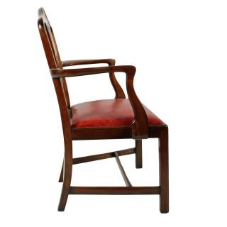 Georgian Hepplewhite Elbow Chair