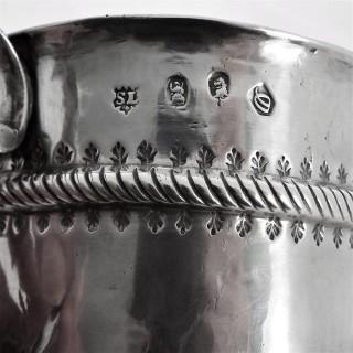 Quality Queen Anne Britannia silver porringer London 1713 Gabriel Sleath