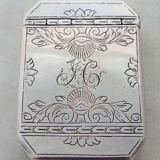 Nice George II silver box C1740 Robert Collier
