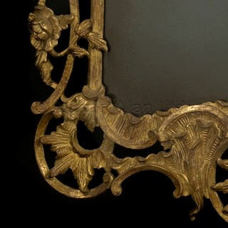 A Pair of Giltwood Mirrors in the Rococo Style