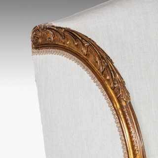 Fine French 19th Century Gilt Louis XIV Style Sofa / Canape