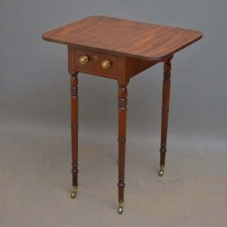 Exceptional George III Mahogany Drop Leaf Table