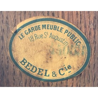 Antique Monumental 7ft French Ormolu Mounted Bureau Plat Desk 19th Century