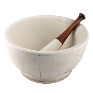 Very Large Mortar & Pestle
