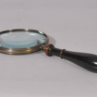 Antique Treen 19th Century Magnifying Glass