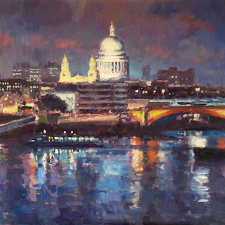 Nightfall St Pauls