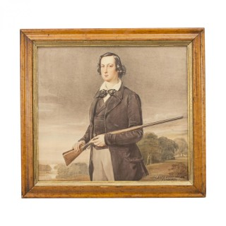 Portrait Of A Young Man With Gun