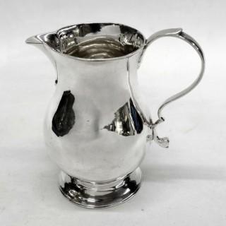 Antique George II Silver Jug