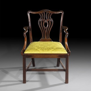 Fine Chippendale Armchair