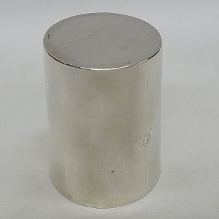Antique George III Silver Beaker