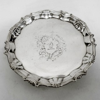 Georgian Silver Salver