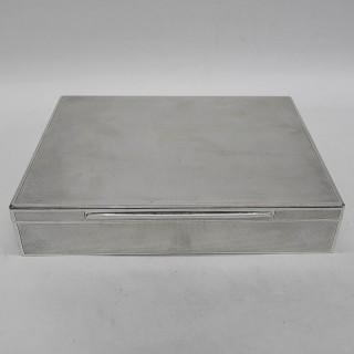 Vintage Silver Box by Asprey