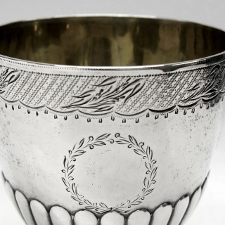 George III Silver Goblets