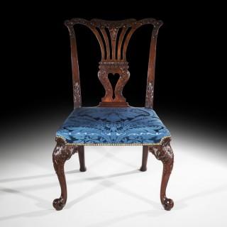 Fine Chippendale Rococo Chair