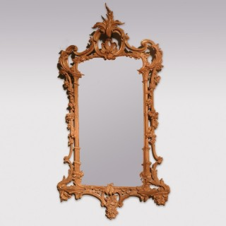 18th Century carved giltwood 'pagoda style' Mirror