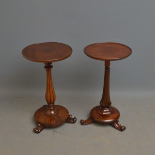 Matched Pair of William IV Mahogany Coffee Table