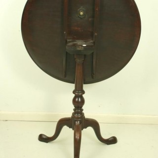 Mahogany Tripod Table