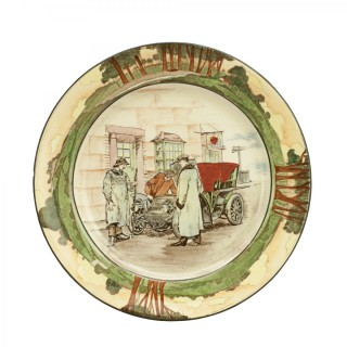 Royal Doulton Motoring Plate