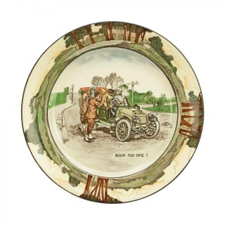 Royal Doulton Motoring Plate - Room For One!