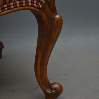 Victorian Walnut Stool