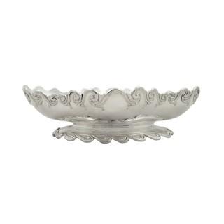 Antique Victorian Sterling Silver Garrards Dish / Bowl 1883