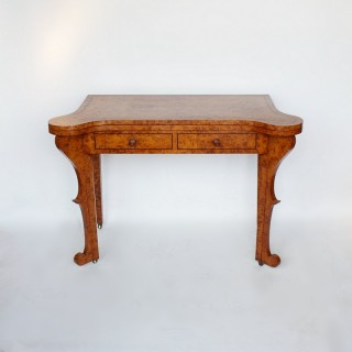 19thC Card Table