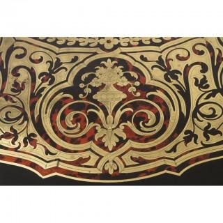 Antique French Boulle Centre Table Bureau Plat c.1860