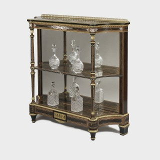 A Fine 19th Century Inlaid Etagere Attributed to Holland & Sons