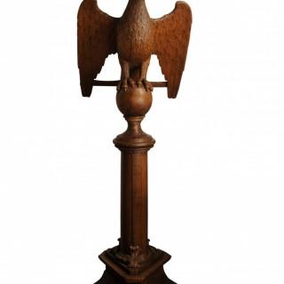 Floor standing eagle lectern