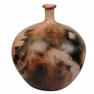 Studio Ceramic glazed bottle vase, Gabrielle Koch