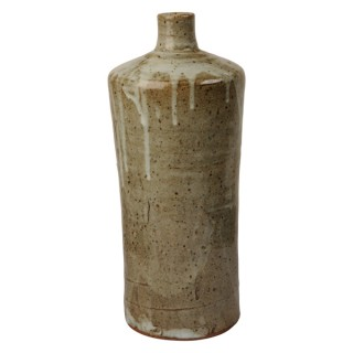 Studio ceramic glazed bottle vase, William Marshall