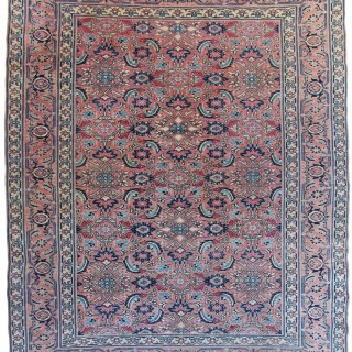 Antique Herat rug, South Khorassan Province