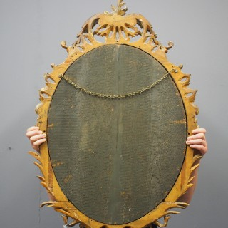 George III Style Carved Wall Mirror