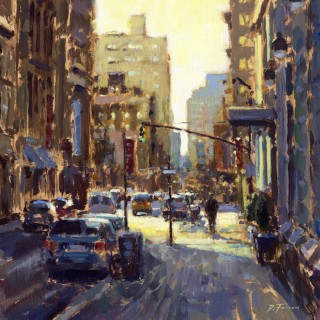 New York, morning Light