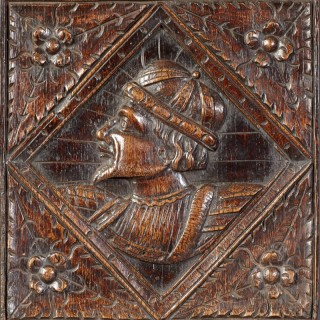 Romayne Carved Panel