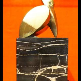 GEHEL Art Deco period modernist design pelican