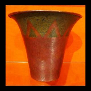 CLAUDIUS LINOSSIER (1893- 1953) Rare art deco period vase