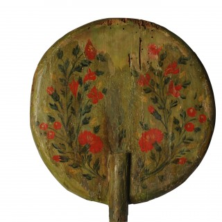 Processional Staff with painted decoration, Spain, circa 1700