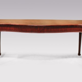 Mid 18th Century George III Mahogany Serving Table