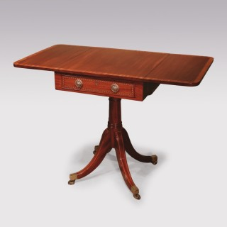 A George III Centre Pedestal Sofa Table