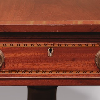 A George III Centre Pedestal Sofa Table