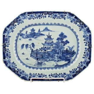 18th Century Chinese Nanking Dish