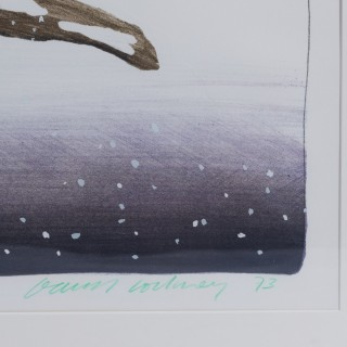 David Hockney (b. 1937) 'Snow' (England, 1973)