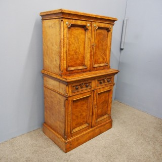 Pollard Oak Collectors Cabinet or Estate Cabinet